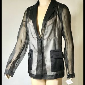 """Maison Margiela Couture Sheer 'Illusion"""" Jacket 42"""